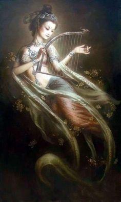 Kuan Yin. Diosa oriental de la compasión y de la misericordia http://patricialee.me