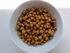 Healthfull Ever After: Roasted Chickpeas