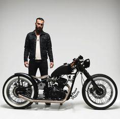 MOTORCYCLE HOOLISTER BOBBER 125 2013