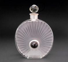Rene Lalique Perle Noire Forvil Perfume Bottle Rare C1922