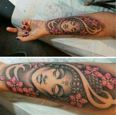 Resultado de imagem para tatuagem buda feminina