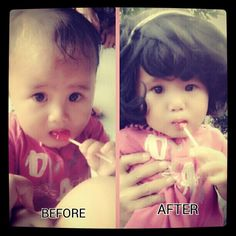 moza caroline before after<3