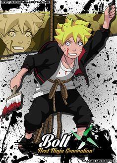 Bolt Uzumaki is from Naruto Bolt Uzumakiis anofand a member of both theand Boruto is th. Boruto And Sarada, Kakashi Hatake, Naruto Shippuden Anime, Boruto Characters, Anime Characters, Naruto Oc, Anime Naruto, Team 7, Naruto Wallpaper