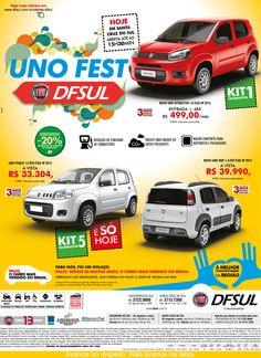 Cliente: DFSUL Fiat concessionária Material: Anúncio Agência: BAG propaganda