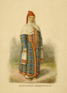 Kyrgyz woman, 1836