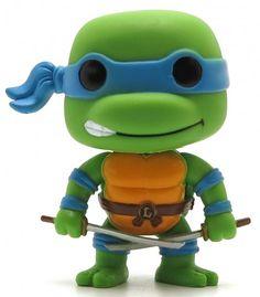 Film-fanartikel Teenage Mutant Ninja Turtles 8-bit Pop Vinyl Figur Donatello 9 Cm Neu & Ovp