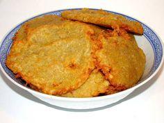 Tócsni   Varga Gábor receptje - Cookpad receptek Pizza, Hungarian Recipes, Hungarian Food, Cornbread, Nutella, Food To Make, Food Processor Recipes, Bacon, Veggies