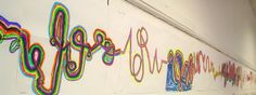 Lessons from the K-12 Art Room: Collaborative Line Project