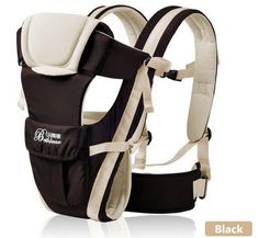 c544eebebaa Adjustable Baby Carrier Comfortable Wrap Rider Sling Backpack Blue Color    Check out the image by
