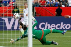 2015 U.S.A. Beats Germany 2-0 To Advance To Women's World Cup Final
