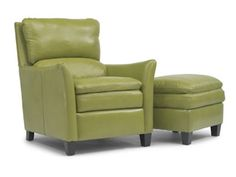 """Shop for Flexsteel Chair And Ottoman, 1711-CO, and other Living Room Chairs at New Ulm Furniture Co in New Ulm, MN. Also available in special order covers. Comes standard with Flexsteel DualFlex spring system. Ottoman dimensions 24""""x20""""x21""""."""