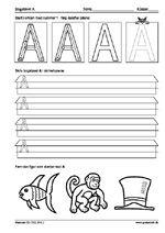 Opgaver til førskolebørn