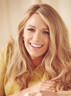 Blake Lively | She was amazing on gossip girl, age of adaline and the shallows!