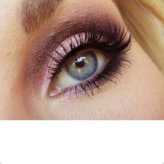 eye makeup for blue eyes purples