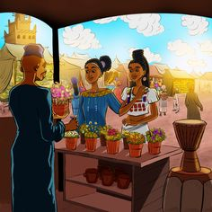 The Royal Adventures of Princess Halima visiting The Gambia! Free shipping on your first order! Sign-up now!