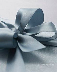 quenalbertini: Bow in french blue ribbon Blue Bow, Blue Ribbon, Ribbon Bows, Blue And White, Ribbons, Blue Satin, Satin Bows, Boy Blue, Dusty Blue