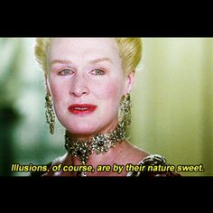Not an old film, still i like it. Glenn Close as Marquise Isabelle de Merteuil on Illusions. in Dangerous Liaisons Act Theatre, Dangerous Liaisons, Cinema, Bad Romance, Black Sails, Film Quotes, Classic Films, Beautiful One, Film Movie