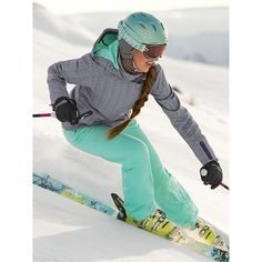 If only I was a ski bunny.... Printed Sun Valley Ski Jacket | Athleta Follow for follow, pin for pin!