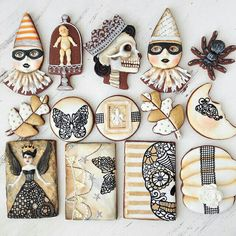 Halloween cookies by Arty Mcgoo