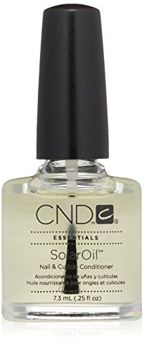 CND Essentials Nail  Cuticle Oil Solaroil 025 fl oz -- Check this awesome product by going to the link at the image. Note:It is Affiliate Link to Amazon.