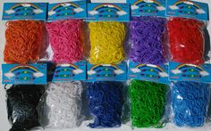 AIEX 600 Pieces S Clips Loom Bands Clips Rubber Band Kit Plastic Connectors for Bracelets and DIY Craft Making Clear