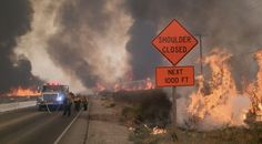 Buildings burn, residents flee as out-of-control brush fire burns acres in Cajon Pass Raw video from Blue Cut fire near t. Hurricane Storm, Tornado Damage, California Wildfires, Tornadoes, Severe Weather, The Province, Tsunami, Natural Disasters, Southern California