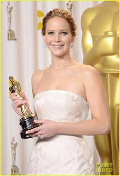 #Jennifer Lawrence #Oscar