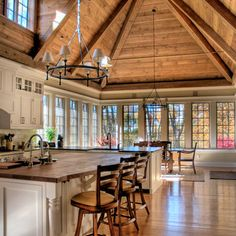 Post And Beam Barn Home Design, Pictures, Remodel, Decor and Ideas - page 47