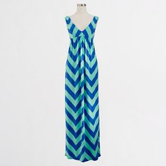 J Crew maxi dress. I will wear it all spring and summer.