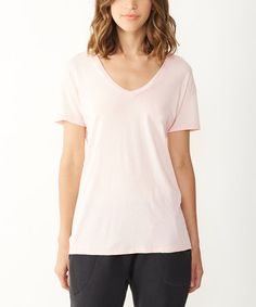 This Vintage Blush Organic Perfect Tee is perfect! #zulilyfinds