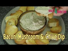 Bacon, Mushroom and Chive Dipping Sauce - Simply the Best Dip Recipe EVE...