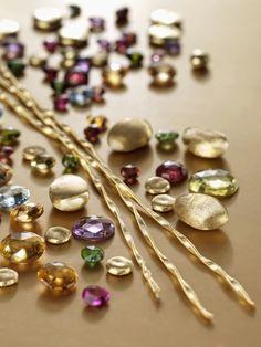 ¡Joyas llenas de vitalidad! #MarcoBicego #piedraspreciosas #oro