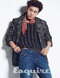 donghae Super Junior Esquire Korea 2