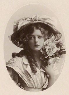 Connie Stuart by Rita Martin, published by Aristophot Co Ltd bromide postcard print, circa 1910