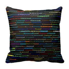 Linwood Text Design I Throw Pillow
