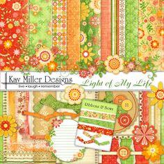 Light of My Life Page Kit