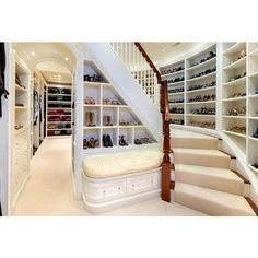 Just gonna walk downstairs to my shoe closet.... OKAY!!