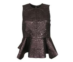 Brocade top! This is the look of the season. http://renegadechicks.com/brocade-without-going-broke/