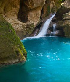 Waterfall in Jacmel, Haiti