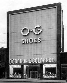 The O'Connor-Goldberg shoe store, 4025 W. Madison, Chicago, IL.