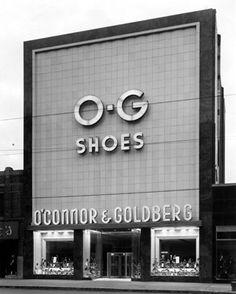 The O'Connor-Goldberg shoe store, 4025 W. Madison, Chicago, IL.