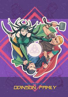 Thor: Ragnarok || Loki,Hela - Odinson Family