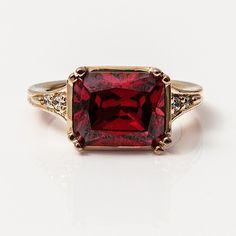 The ruby coronation ring of Empress Joséphine