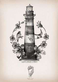 Lighthouse tattoo tattoo pinterest leuchtturm tattoo - Leuchtturm tattoo bedeutung ...