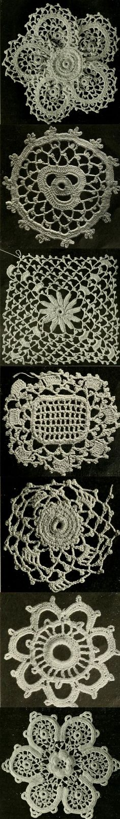 Learn baby Irish crochet lace in this book from 1930!