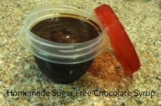 Sugar-Free Chocolate Syrup - FP
