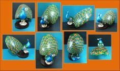 Pavo real, hecho en tagua- Disponible en Weil Art