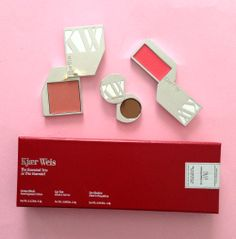 The final giveaway from spirit beauty lounge and Katey Denno is a Kjaer Weis set! Organic Makeup, Natural Makeup, Natural Beauty, Love Natural, Natural Glow, Eco Friendly Makeup, Beauty Lounge, Green Goddess, Organic Living