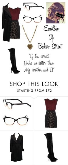 """""""*The Great Mouse Detective: Emillia (New Beginning)"""" by blissfull-darkness ❤ liked on Polyvore featuring Bobbi Brown Cosmetics, The Row, Kendall + Kylie and Etro"""