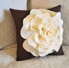Decorative Pillow Rose Pillow 16 x16 by bedbuggs, 40 or pattern for 6.Comes in all sorts of styles. Very cute!